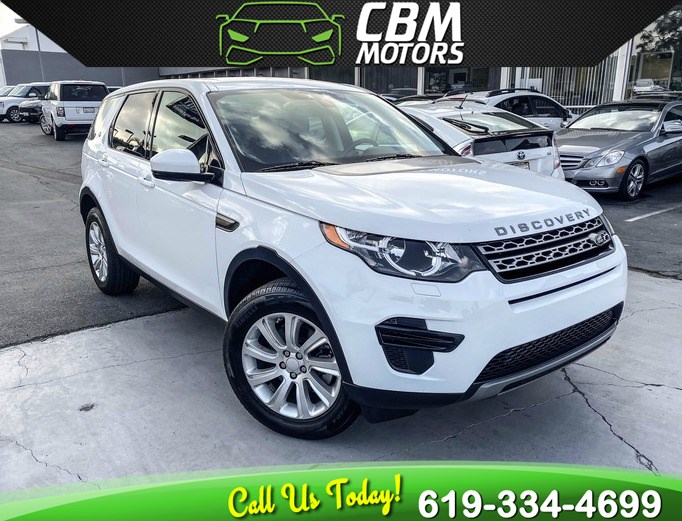 2016 Land Rover Discovery Sport SE AWD TURBOCHARGED W/ NAV/ BACKUP CAMERA/ 3RD ROW