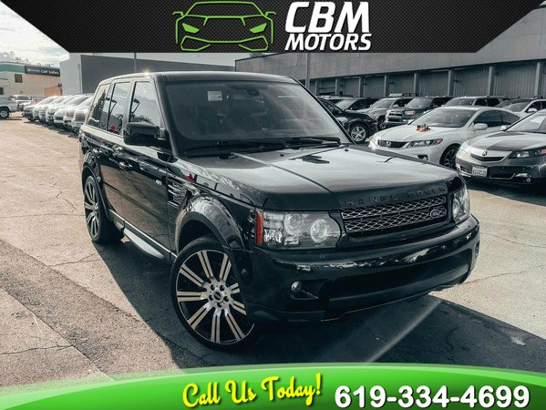 2013 Land Rover Range Rover Sport HSE LUX 4X4 W/ MOONROOF/ NAV/ BACK UP CAMERA