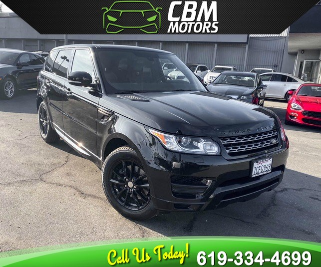 2014 Land Rover Range Rover Sport SE 4X4 SUPERCHARHED W/ NAV/ BACK UP CAMERA