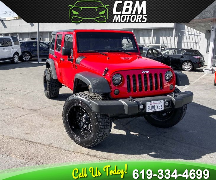 2016 Jeep Wrangler Unlimited Sport 4WD W/ DUAL TOP/ BLUETOOTH/ LOW MILES