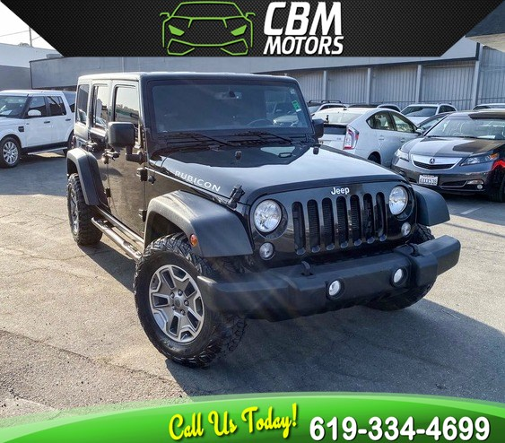 2014 Jeep Wrangler Unlimited Rubicon 4WD W/ TARGA ROOF