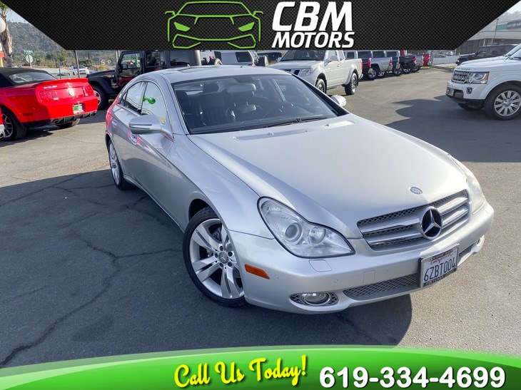 2009 Mercedes-Benz CLS550 CLS 550 PREMIUM W/ MOONROOF/ NAV/ SUPER LOW MILES