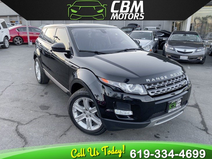 2015 Land Rover Range Rover Evoque Pure Plus AWD TURBO W/ PAN MOONROOF/ BACKUP CAMERA