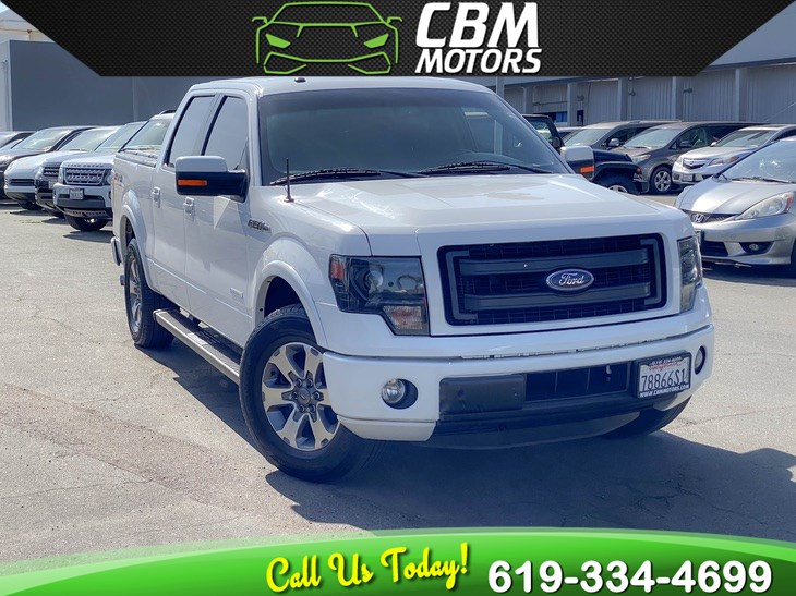 2014 Ford F-150 FX2 ECOBOOST W/ LUXURY PKG/ BACK UP CAMERA