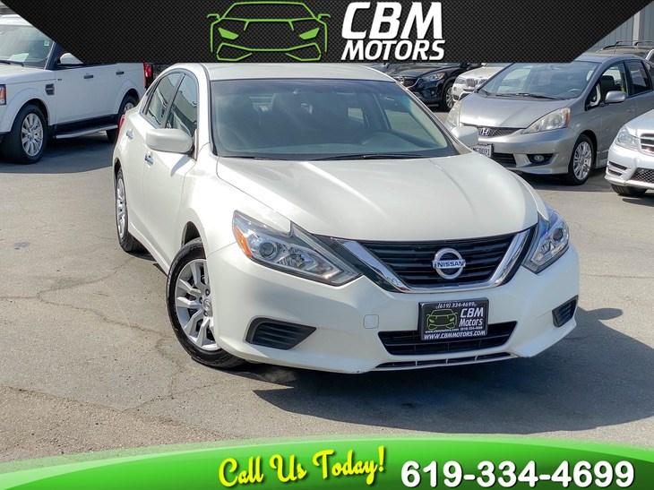 2017 Nissan Altima 2.5 S W/ BACK UP CAMERA/ BLUETOOTH