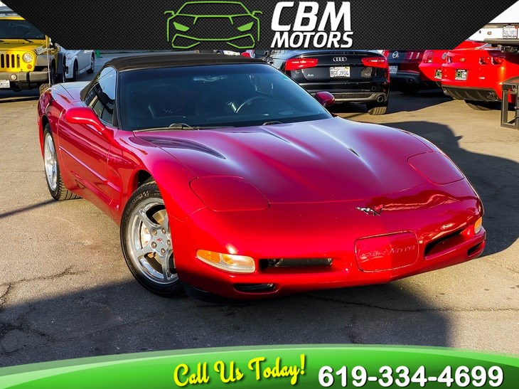 2004 Chevrolet Corvette 5.7L 6-SPEED MANUAL CONVERTIBLE W/ SUPER LOW MILES