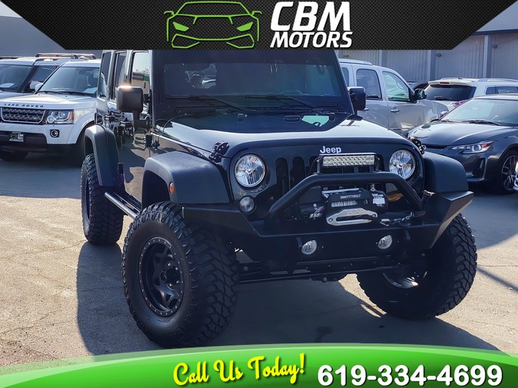 2015 Jeep Wrangler Unlimited Sport 4WD W/ TARGA ROOF/ SUPER LOW MILES