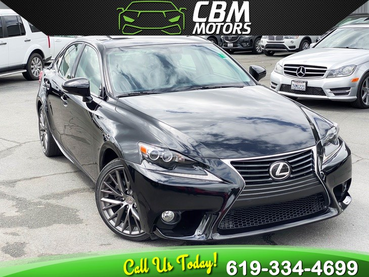 2014 Lexus IS 250 W/ PREMIUM PKG/ NAV/ MOONROOF