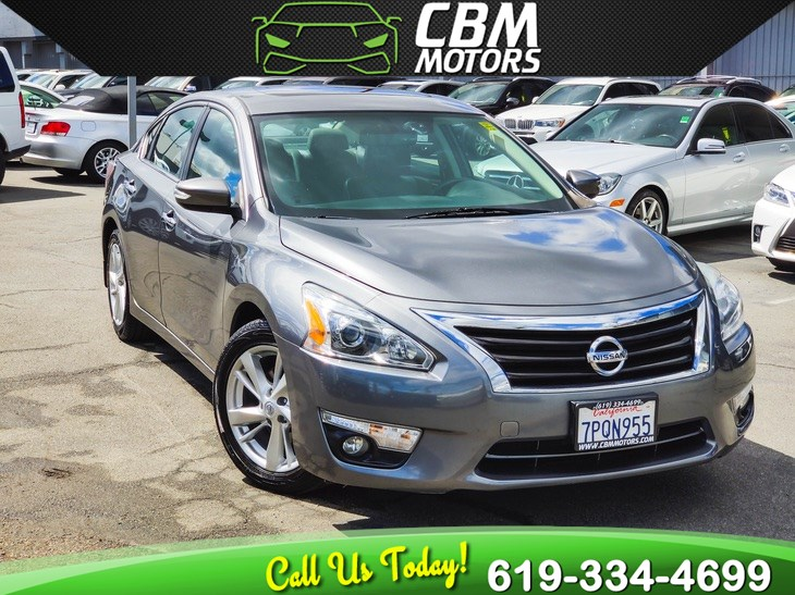 2015 Nissan Altima 2.5 SL W/ TECHNOLOGY PKG/ MOONROOF/ NAV