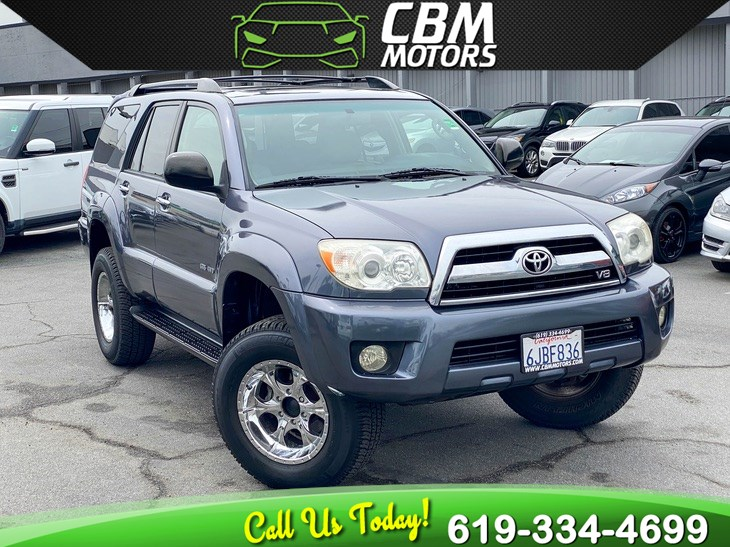 2006 Toyota 4Runner SR5 4WD W/ MOONROOF/ CLEAN CARFAX