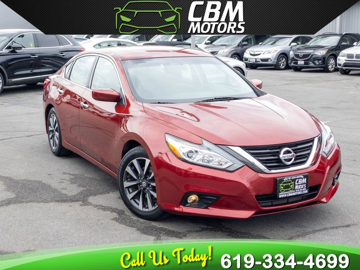 2017 Nissan Altima 2.5 SV W/ BACK UP CAMERA/ BLUETOOTH