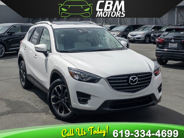 2016 Mazda CX-5 Grand Touring W/ TECH PKG/ MOONROOF/ NAV