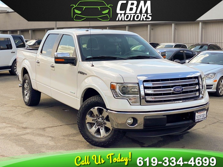 2013 Ford F-150 Lariat ECOBOOST W/ MOONROOF/ NAV/ BACK UP CAMERA