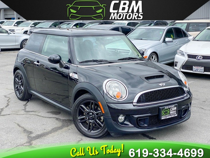 2011 MINI Cooper Hardtop S TURBOCHARGED W/ PREMIUM PKG/ PAN MOONROOF