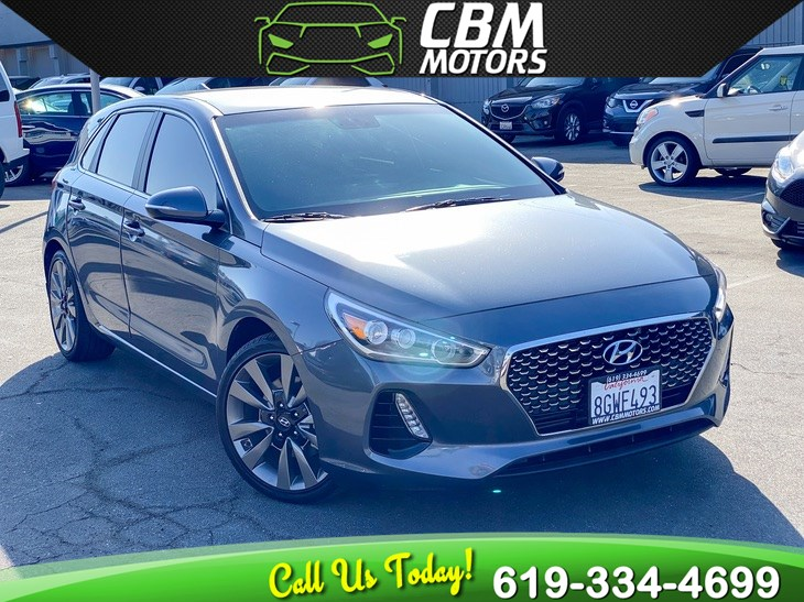 2018 Hyundai Elantra GT Sport TURBOCHRGED W/ BACK UP CAMERA/ BLUETOOTH