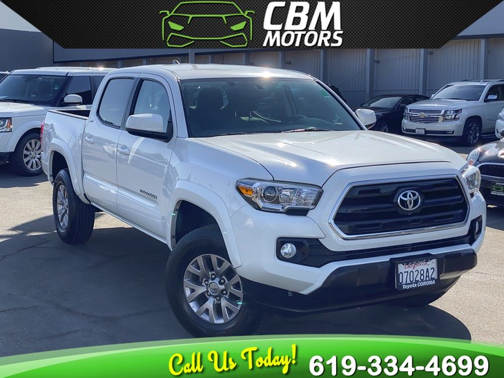2016 Toyota Tacoma SR5 DOUBLE CAB W/ BACK UP CAMERA/ 1 OWNER