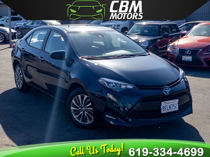 2018 Toyota Corolla XLE W/ MOONROOF/ BACK UP CAMERA/ 1 OWNER