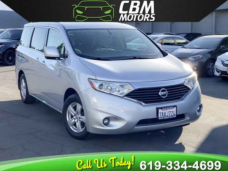 2013 Nissan Quest SV W/ BACK UP CAMERA/ BLUETOOTH