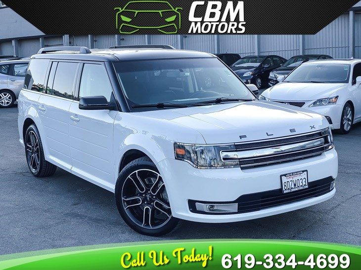 2014 Ford Flex SEL W/ NAVIGATION/ BACK UP CAMERA/ 3RD ROW