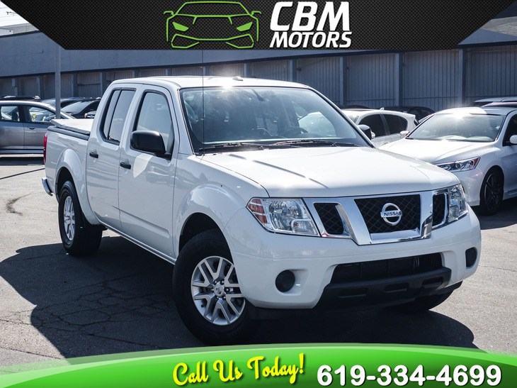 2017 Nissan Frontier SV V6 CREW CAB W/ BLUETOOTH
