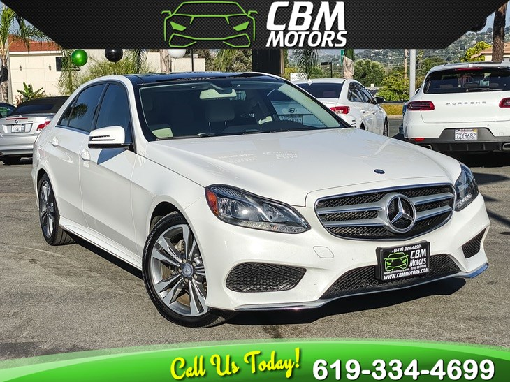 2016 Mercedes-Benz E 350 W/ PREMIUM PKG/ PAN MOONROOF/ NAVIGATION