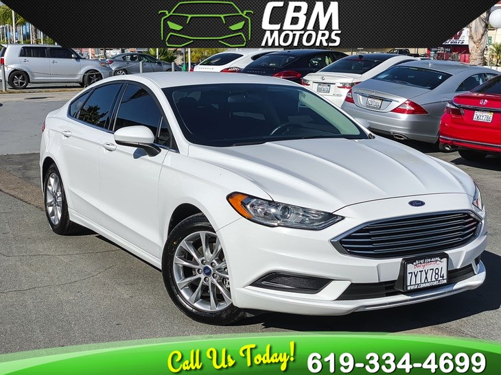 2017 Ford Fusion SE W/ NAVIGATION/ BACK UP CAMERA/ BLUETOOTH