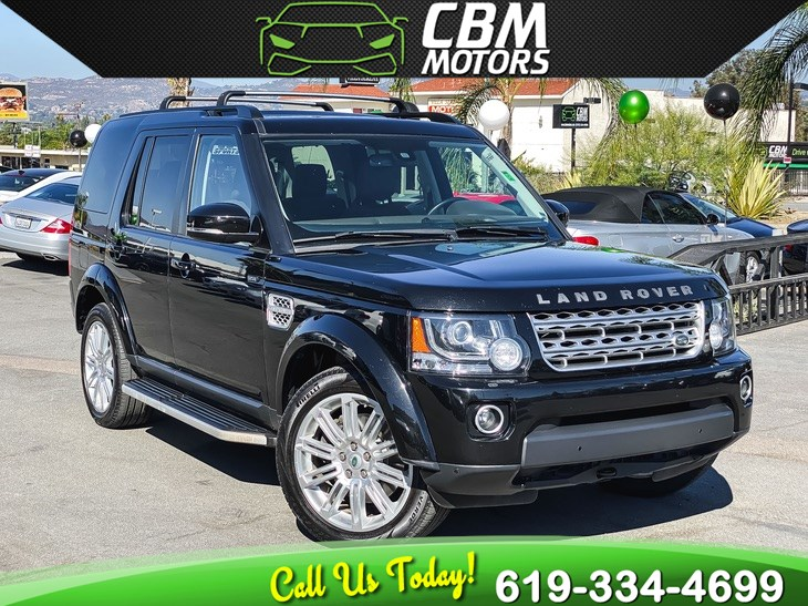 2014 Land Rover LR4 HSE LUX SUPERCHARGED 4X4 W/ PAN MOONROOF/ 3RD ROW