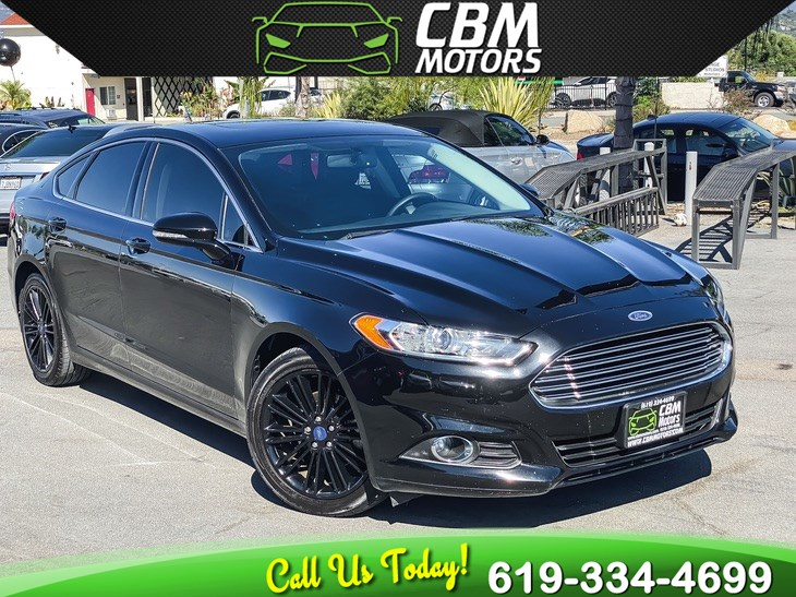 2016 Ford Fusion SE LUXURY ECOBOOST W/ TECH PKG/ MOONROOF/ NAV