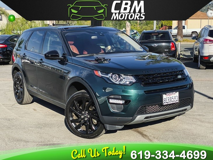2017 Land Rover Discovery Sport HSE Luxury AWD TURBO W/ PAN MOONROOF/ NAV/ 3RD ROW