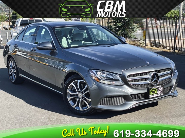 2017 Mercedes-Benz C 300 W/ BACK UP CAMERA/ LOW MILES