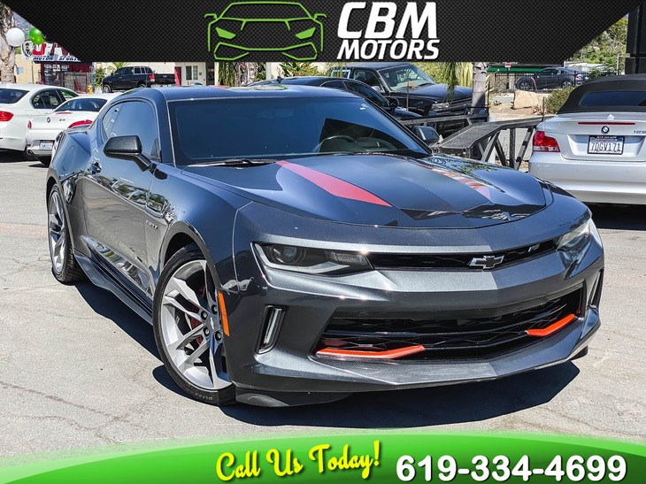 2017 Chevrolet Camaro 2LT RS 50TH ANNIVERSARY ED W/ NAV/ BACK UP CAMERA