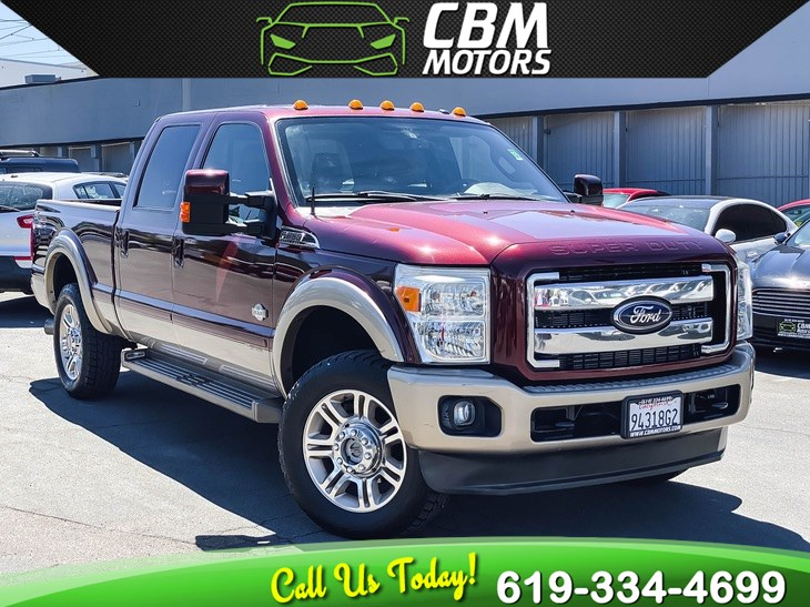 2011 Ford Super Duty F-250 SRW King Ranch FX4 OFF-ROAD TURBO 4X4 W/ NAV/ MOONROOF