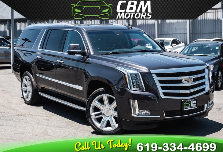 2016 Cadillac Escalade ESV Luxury Collection 4WD 6.2L W/ MOONROOF/ NAV/ DVD