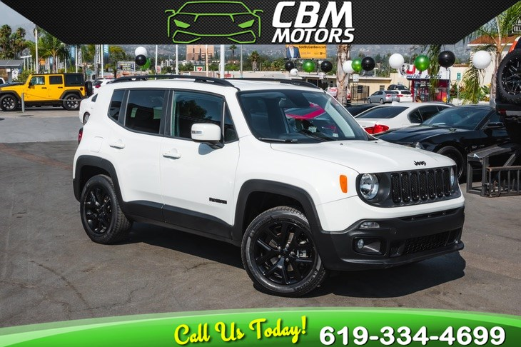 2018 Jeep Renegade Altitude 4X4 W/ BACK UP CAMERA/ BLUETOOTH