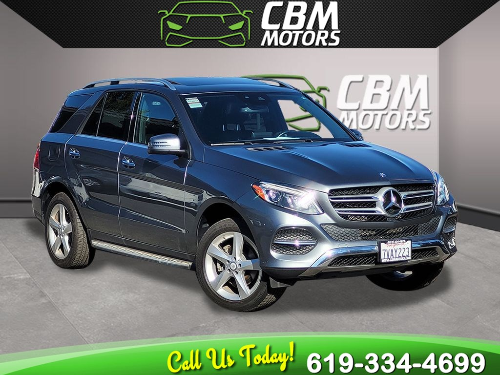 2017 Mercedes-Benz GLE 350 PREMIUM PKG/ MOONROOF