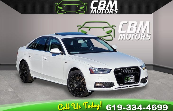 2014 Audi A4 2.0T quattro Premium Plus AWD MOONROOF