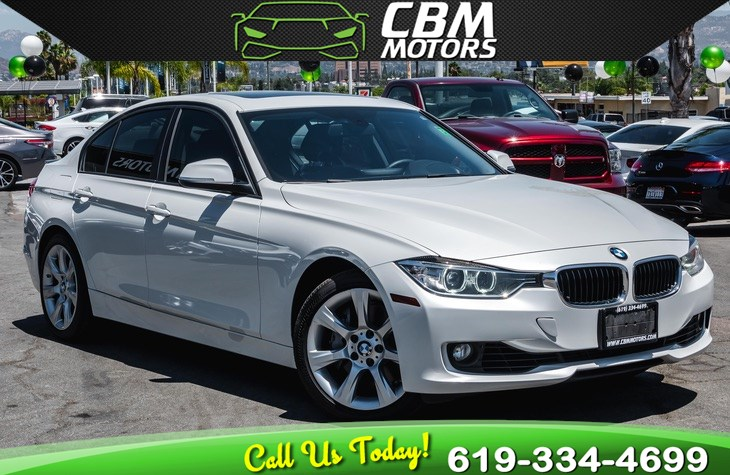 2013 BMW 335i TURBOCHARGED W/ PREMIUM PKG/ TECH PKG/ MOONROOF