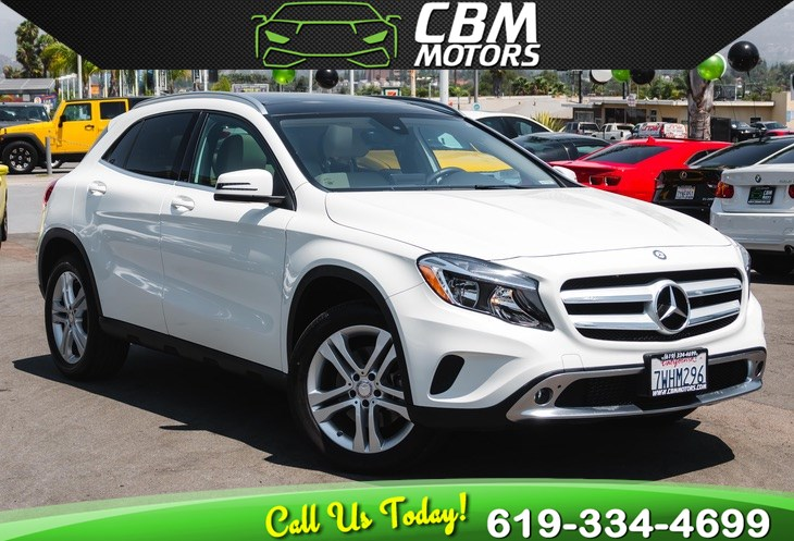 2017 Mercedes-Benz GLA 250 4MATIC AWD TURBOCHARGED W/ PAN MOONROOF