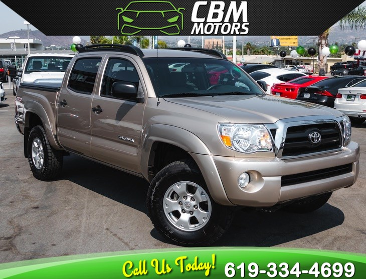 2007 Toyota Tacoma PreRunner V6 TRD-OFF ROAD DOUBLE CAB W/ LOW MILES