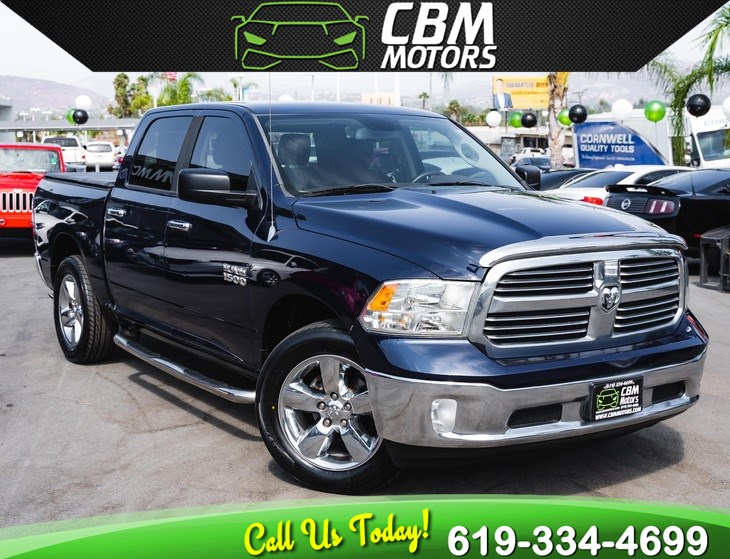 2014 Ram 1500 LONE STAR CREW CAB W/ BACK UP CAMERA/ BLUETOOTH