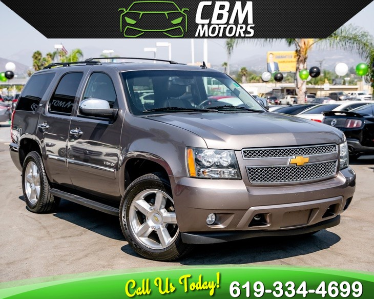 2014 Chevrolet Tahoe LTZ 5.3L 4WD W/ NAV/ BACK UP CAMERA/ 3RD ROW/ DVD