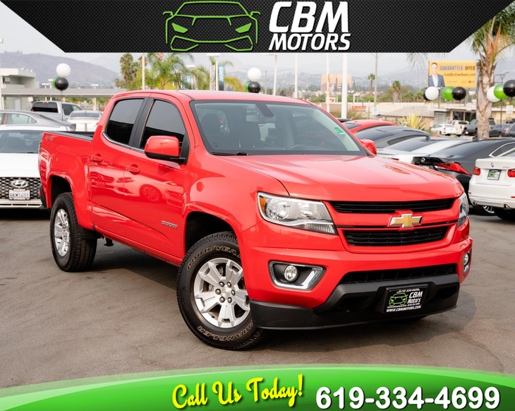 2016 Chevrolet Colorado 4WD LT W/ BACK UP CAMERA