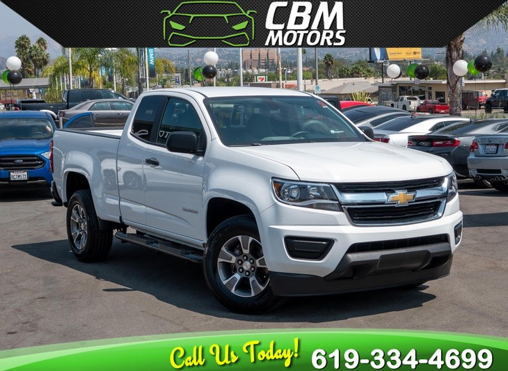 2015 Chevrolet Colorado 2WD 6-SPEED MANUAL W/ BACK UP CAMERA
