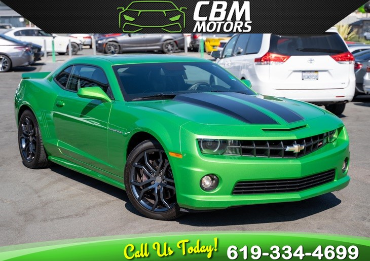 2011 Chevrolet Camaro 2SS 6.2L W/ RS PKG/ MOONROOF/ BACK UP CAMERA/ LOW MILES