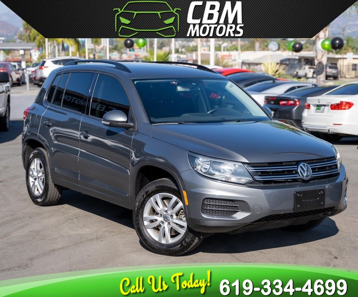 2016 Volkswagen Tiguan 2.0T S TURBOCHARGED W/ BACK UP CAMERA/ BLUETOOTH