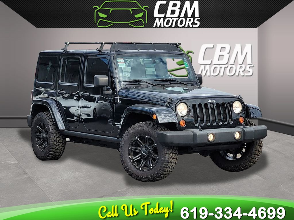 2012 Jeep Wrangler Unlimited Rubicon 4WD W/ TARGA ROOF/ NAVIGATION