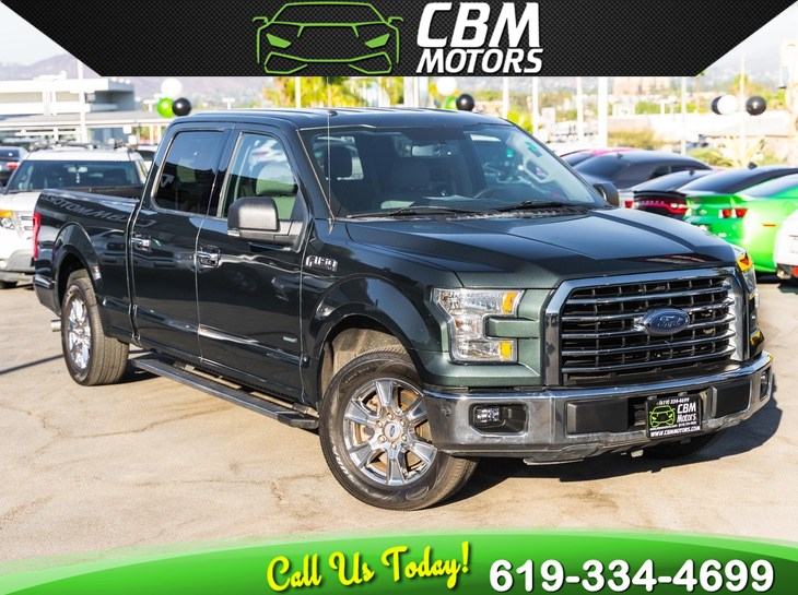 2015 Ford F-150 XLT ECOBOOST W/ BACK UP CAMERA/ BLUETOOTH