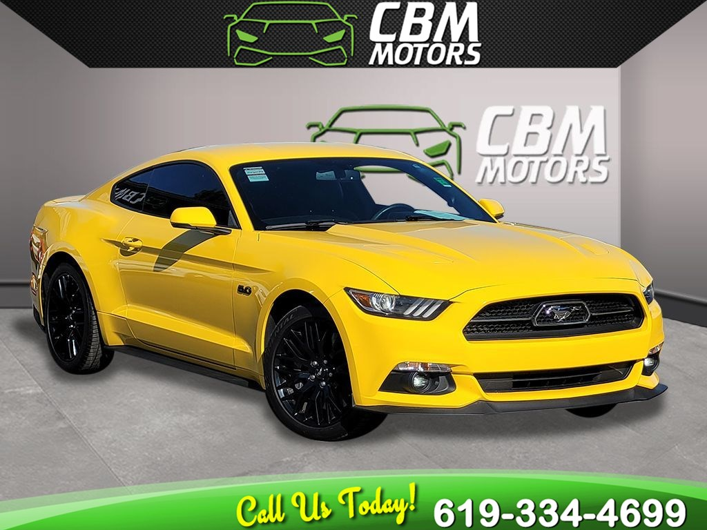2015 Ford Mustang GT Premium 5.0L 50 YEARS EDITION  6-SPEED MANUAL