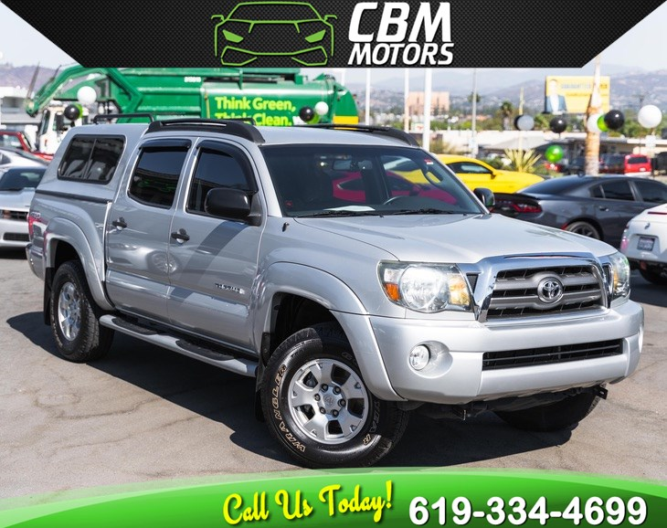 2010 Toyota Tacoma PreRunner V6 TRD-OFF ROAD DOUBLE CAB W/ LOW MILES