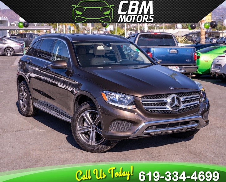 2017 Mercedes-Benz GLC 300 TURBOCHARGED PREMIUM PKG